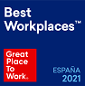 Great Place To Work. Certified 2019 ESPAÑA